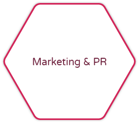 Marketing and PR button image